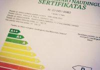 Energetinio naudingumo sertifikatas