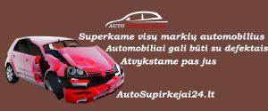 Automobilio supirkimas